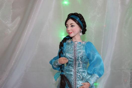 Коллекционные куклы ручной работы. Ярмарка Мастеров - ручная работа. Купить Варвара-краса, длинная коса. Handmade. Кукла в подарок
