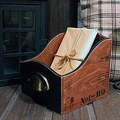 Для дома и интерьера ручной работы. Ярмарка Мастеров - ручная работа Органайзер в стиле Лофт. Handmade.