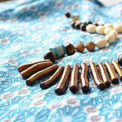 Украшения handmade. Livemaster - original item Ethno necklace Mozambique. Handmade.