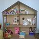 Кукольный домик большой. Фото предоставлено Осиповой Натальей (http://www.livemaster.ru/tusendria)