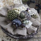 Украшения handmade. Livemaster - original item Brooch Frozen Flowers. Handmade.
