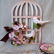 Куклы и игрушки ручной работы. Ярмарка Мастеров - ручная работа Интерьерная флористическая композиция. Handmade.