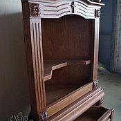 Для дома и интерьера ручной работы. Ярмарка Мастеров - ручная работа Полка для икон из дуба. Handmade.