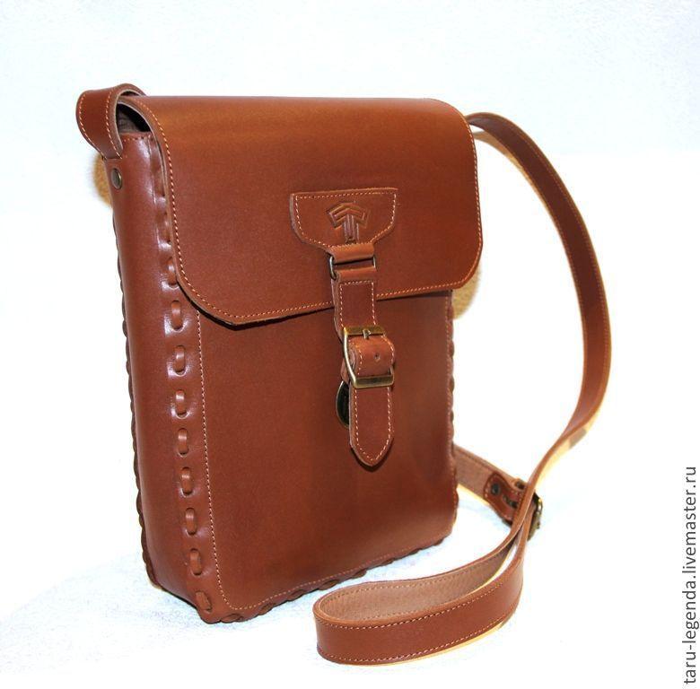 fd487e366160 Мужские сумки ручной работы. Ярмарка Мастеров - ручная работа. Купить  Мужская кожаная сумка ' ...