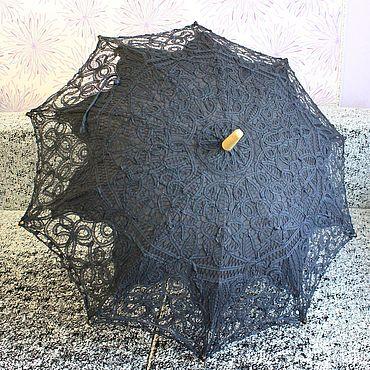 Аксессуары ручной работы. Ярмарка Мастеров - ручная работа Кружевной зонт №22. Handmade.