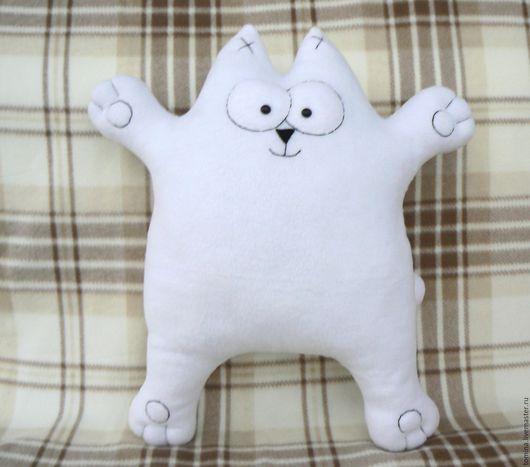 Кот Саймона. Кот. Коты и кошки. Котик. Прикольный кот. Кот в подарок. Оригинальный подарок. Мягкая игрушка кот.