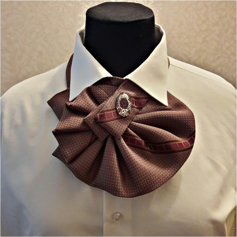 Украшения из мужского галстука своими руками мастер класс фото 681
