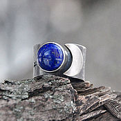 Украшения handmade. Livemaster - original item A silver ring with lapis lazuli