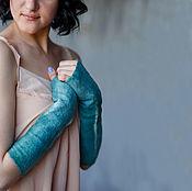 Аксессуары handmade. Livemaster - original item Felted mitts