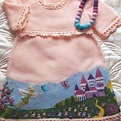 """Работы для детей, ручной работы. Ярмарка Мастеров - ручная работа Детское  платье """"Там, где живут феи"""". Handmade."""