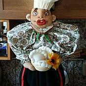 Для дома и интерьера ручной работы. Ярмарка Мастеров - ручная работа Кукла пакетница Гриша. Скидка!. Handmade.