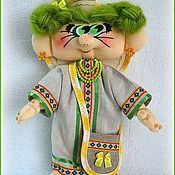 Куклы и игрушки ручной работы. Ярмарка Мастеров - ручная работа Кукла Травинка. Handmade.