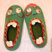 Обувь ручной работы. Ярмарка Мастеров - ручная работа Паранормальные Зомбо-тапки. Handmade.