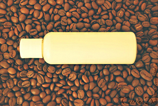 Крем, гель, сыворотка ручной работы. Ярмарка Мастеров - ручная работа. Купить Кофейное антицеллюлитное молочко для похудения. Handmade. Кофе