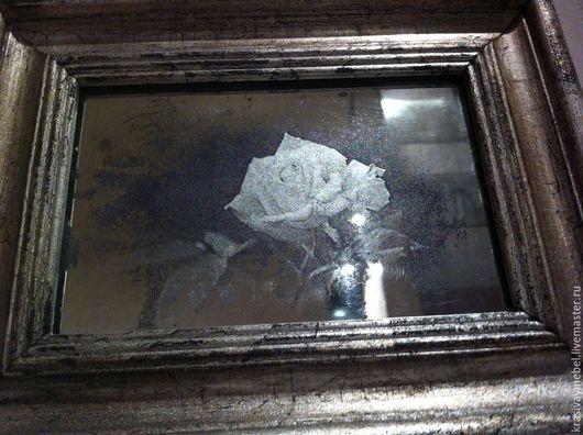 Зеркала ручной работы. Ярмарка Мастеров - ручная работа. Купить Интерьерное фото. Handmade. Серебряный, фотоальбом, для дома и интерьера, поталь