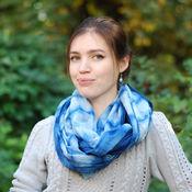 Аксессуары handmade. Livemaster - original item Batiste scarf