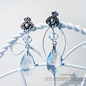 Украшения handmade. Livemaster - original item earrings Silver drops. Handmade.