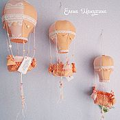 Куклы и игрушки ручной работы. Ярмарка Мастеров - ручная работа Воздушный шар (интерьерная игрушка). Handmade.