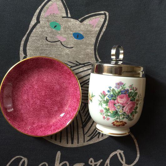 """Винтажная посуда. Ярмарка Мастеров - ручная работа. Купить КОДЛЕР Coalport,паттерн """"Montrose"""",king size + подарок ,продано. Handmade."""