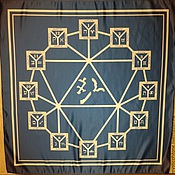 Фен-шуй и эзотерика handmade. Livemaster - original item Wicca Magic Cloth Altar Tarot 12 homes V1.1. Handmade.