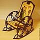 Кукольный дом ручной работы. Ярмарка Мастеров - ручная работа. Купить Кресло-качалка «Звуки музыки». Handmade. Кресло для куклы