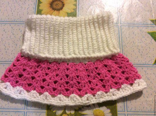 """Одежда для девочек, ручной работы. Ярмарка Мастеров - ручная работа. Купить Манишка """"Теплая Зима"""". Handmade. Комбинированный, однотонный"""