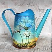 Цветы и флористика handmade. Livemaster - original item Watering the birth of the day. Handmade.