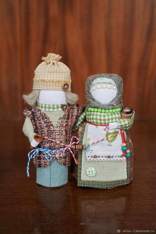 Семья «Крепкие узы» народные куклы, Народная кукла, Обухово,  Фото №1