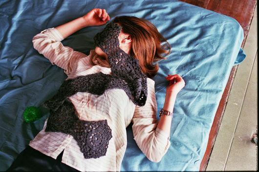 Шарфы и шарфики ручной работы. Ярмарка Мастеров - ручная работа. Купить Серый шарф. Handmade. Серый, шарф вязаный