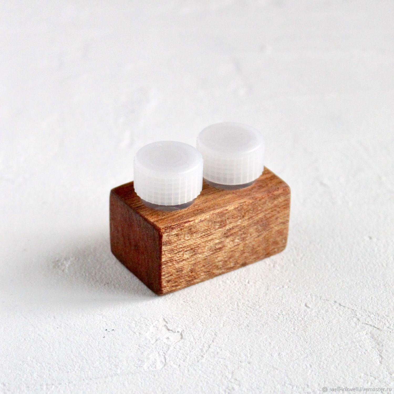 Technica 'Mahogany' 2 small jars, Line, Moscow,  Фото №1