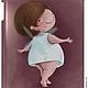 Сумки и аксессуары ручной работы. Заказать Чехол для iPad с феечками от Elina Ellis. Алина 'Магазин волшебных феечек'. Ярмарка Мастеров.