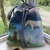 handmade. Livemaster - original item Bags leather torbicki any pattern to order. Handmade.