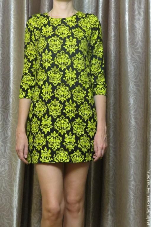 Платье трапеция полуреглан. Стоимость пошива 2500р. Подходит для любого типа фигуры. Длину рукава можно сделать любую, а также форма рукава может быть прямой,а не зауженой.