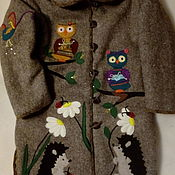 Одежда handmade. Livemaster - original item Wool coat