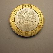 Сувениры и подарки handmade. Livemaster - original item engraved coins, 10 roubles Konigsberg. Handmade.