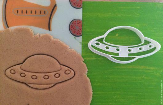 Кухня ручной работы. Ярмарка Мастеров - ручная работа. Купить Форма для печенья НЛО. Handmade. Разноцветный, формочка для печенья