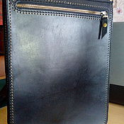 Мужская сумка ручной работы. Ярмарка Мастеров - ручная работа Мужская прочная сумка из натуральной кожи № 5. Handmade.
