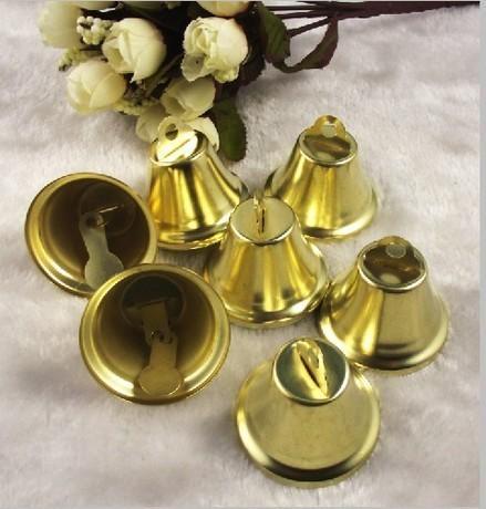 Другие виды рукоделия ручной работы. Ярмарка Мастеров - ручная работа. Купить Золотые колокольчики. Handmade. Золотой, колокольчики