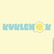 Дизайн и реклама ручной работы. Ярмарка Мастеров - ручная работа Логотип KUKLENOK. Handmade.
