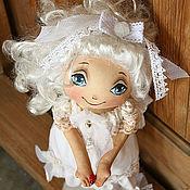 """Куклы и игрушки ручной работы. Ярмарка Мастеров - ручная работа Ангел """"Хочешь, я подарю её тебе...?"""" Текстильная кукла-ангел, подарок. Handmade."""