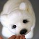 Мишки Тедди ручной работы. Умка... полярный медвежонок. Юлия Козуб (YuliaKozub). Интернет-магазин Ярмарка Мастеров. Мишка белый
