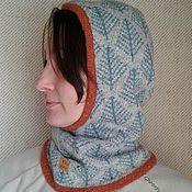 Аксессуары handmade. Livemaster - original item Wool tweed hood. Handmade.