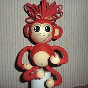 Куклы и игрушки ручной работы. Ярмарка Мастеров - ручная работа Обезьянка ЧИТА. Handmade.