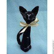 """Куклы и игрушки ручной работы. Ярмарка Мастеров - ручная работа Кошка """"Клариса"""". Handmade."""