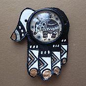 """Украшения ручной работы. Ярмарка Мастеров - ручная работа Кулон """"Индийский слон"""". Handmade."""