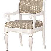 Для дома и интерьера ручной работы. Ярмарка Мастеров - ручная работа стул для кухни и столовой с подлокотниками. Handmade.