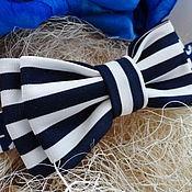 Аксессуары handmade. Livemaster - original item Striped tie