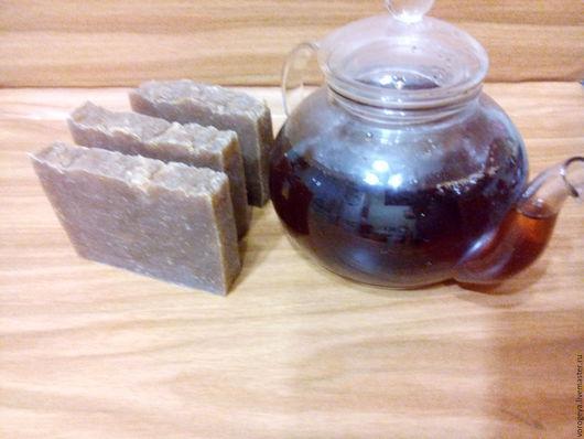 Мыло ручной работы. Ярмарка Мастеров - ручная работа. Купить Зеленый чай мыло с нуля. Handmade. Зеленый чай, вода