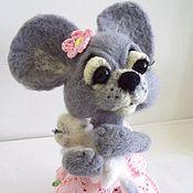 """Куклы и игрушки ручной работы. Ярмарка Мастеров - ручная работа Игрушка из шерсти """"Кошки-мышки"""". Handmade."""