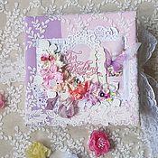handmade. Livemaster - original item Wedding album